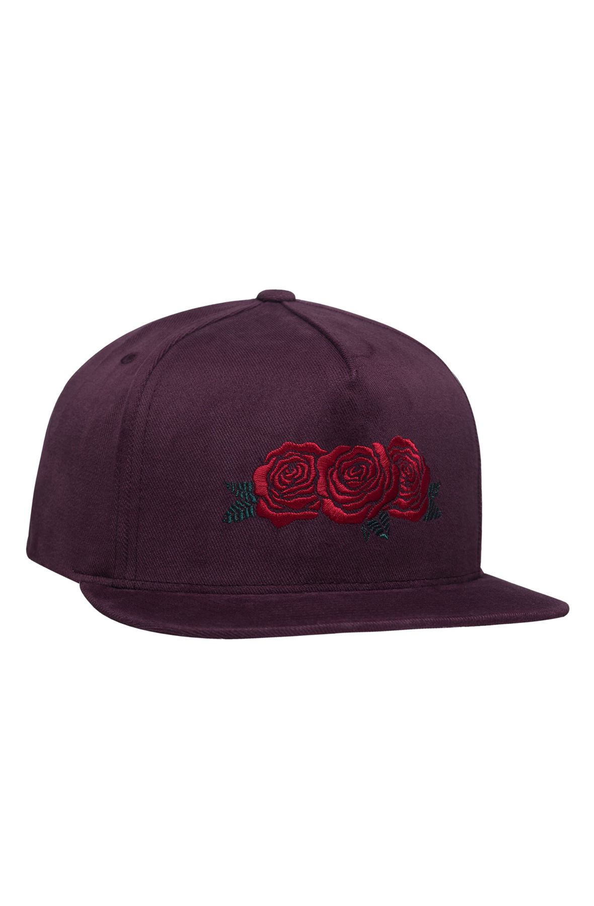 Image of The Triple Rose Snapback Hat in Port Royale