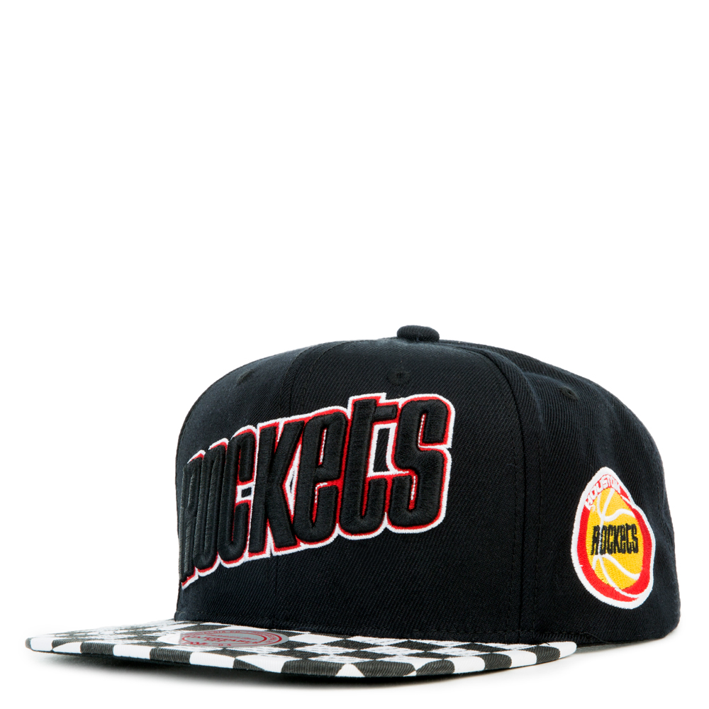 Image of HUSTON ROCKETS CHECKED VISOR SNAPBACK