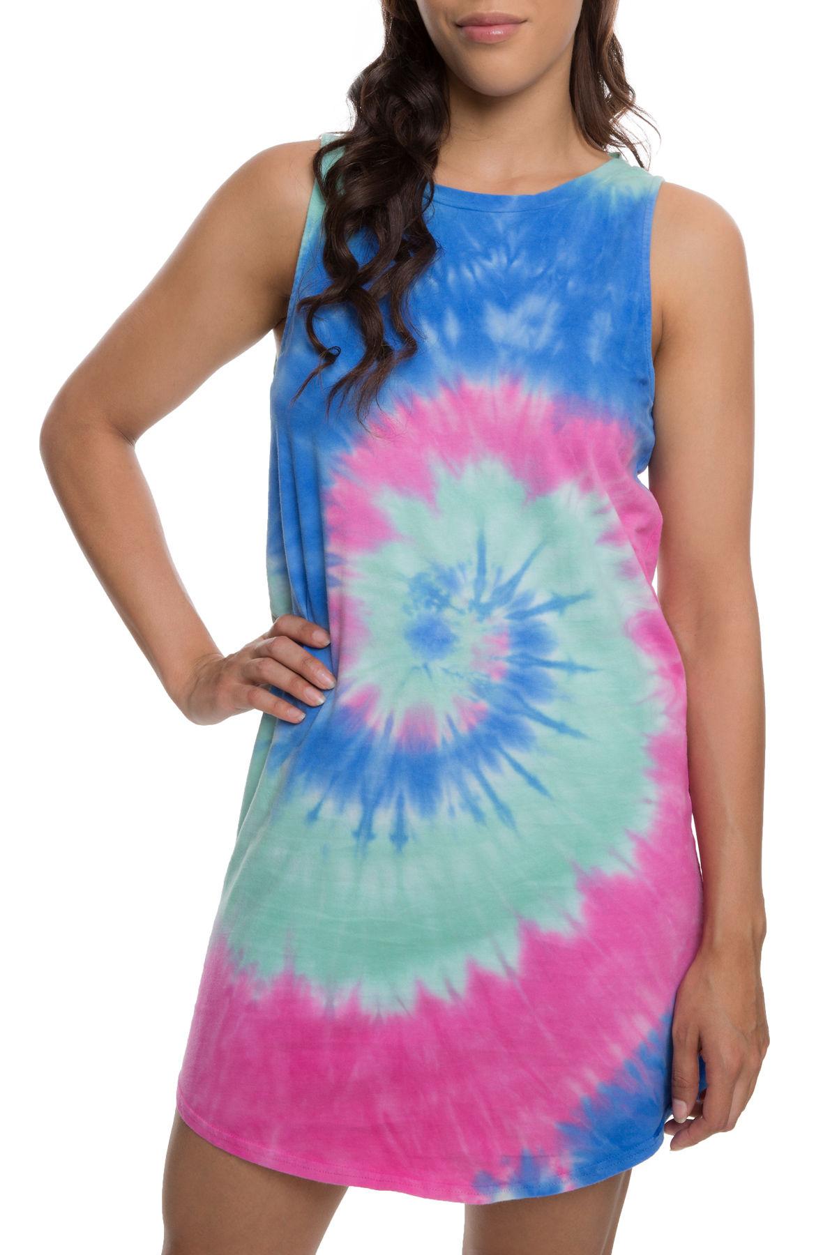 The Dye Job Dress in Tie Dye