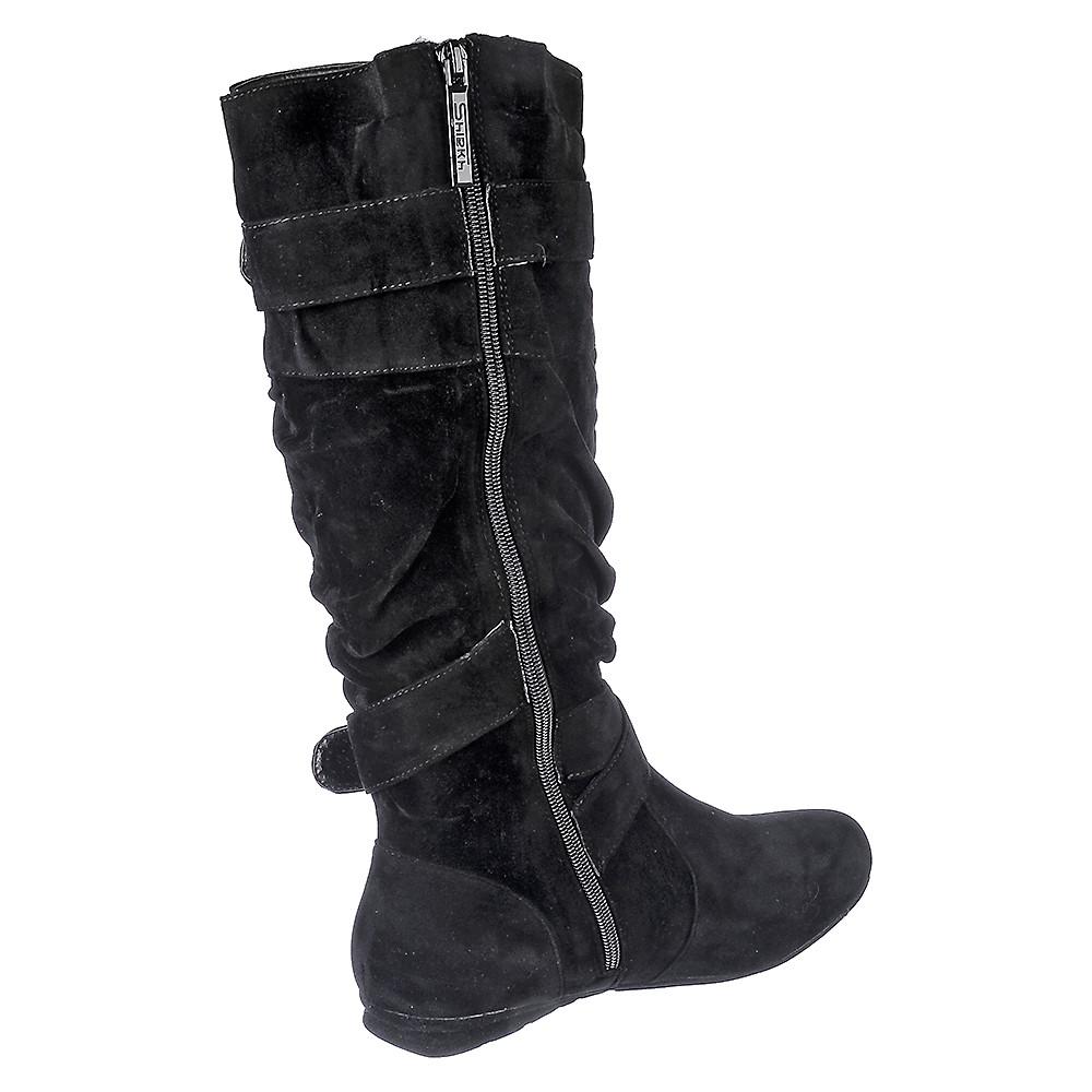 Image of Women's Mid-Calf Flat Boot Sally-4-S