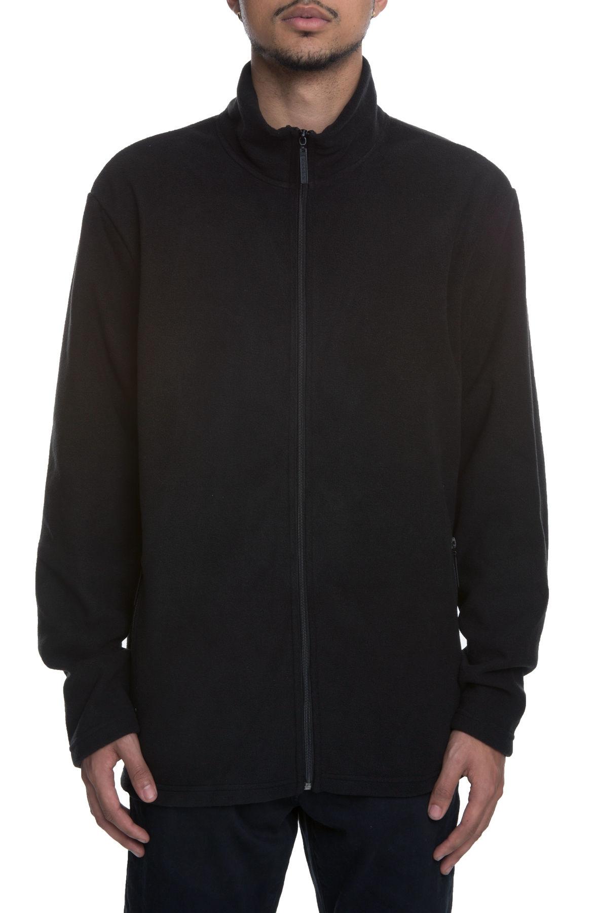Image of Something Fleece in Black