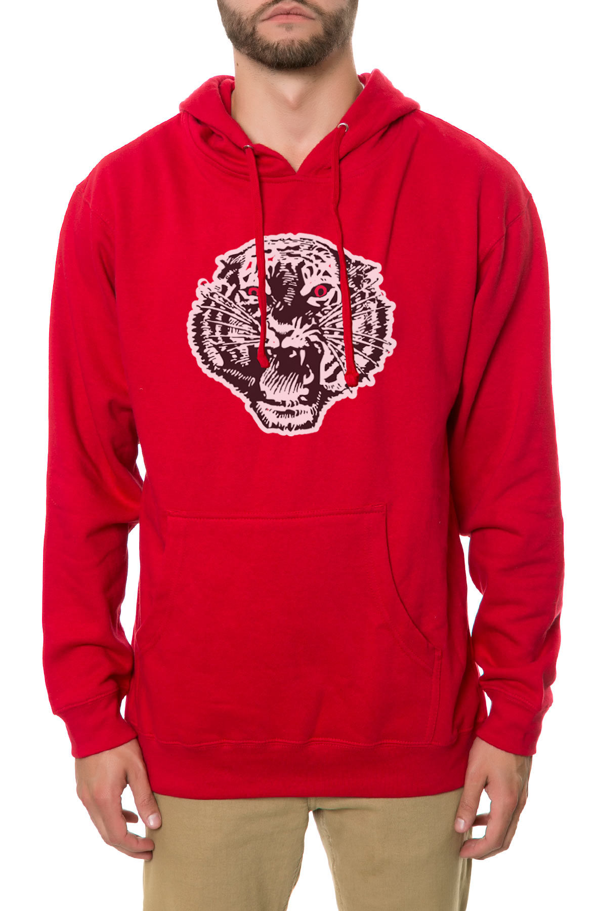 Image of The Mascot Hoodie in Red