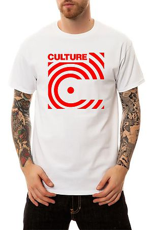 Image of The Culture Cassette Tape 001 T-Shirt in White