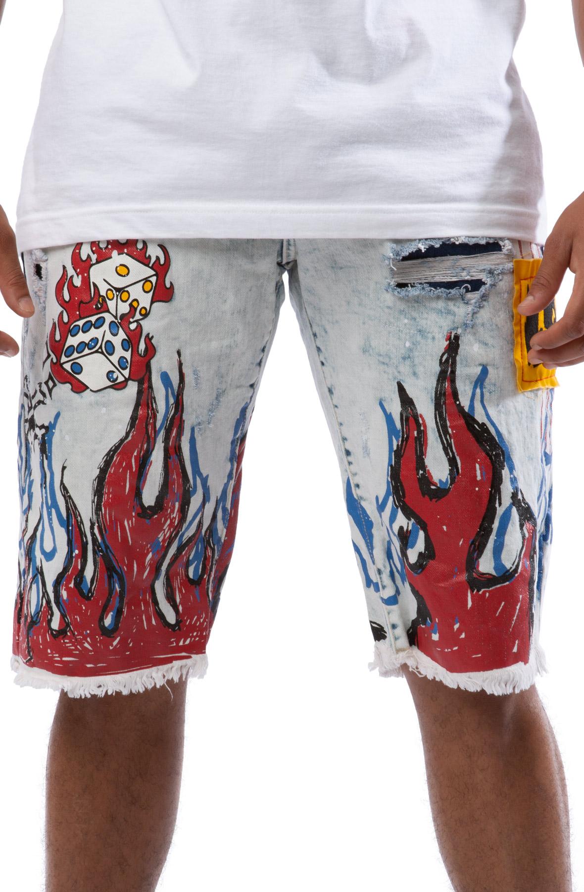 Lost Cut Off Shorts