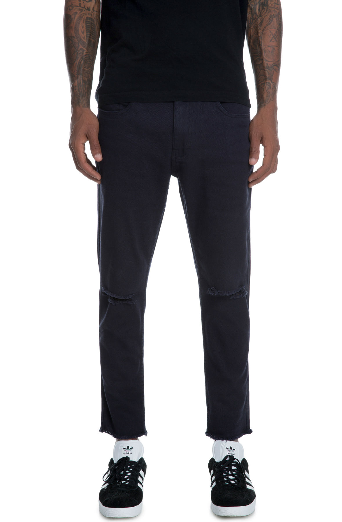 Image of The Stellan Pants in Navy