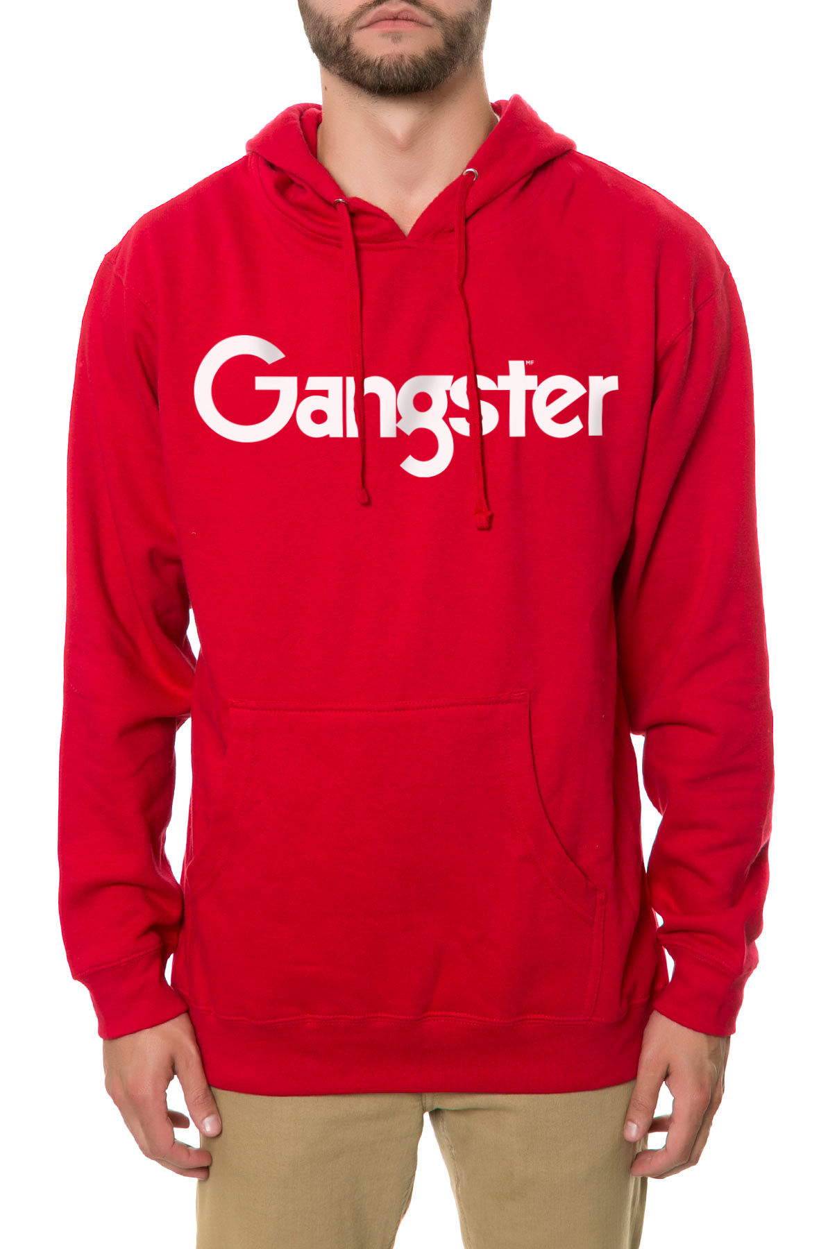Image of The Gangster MF Hoodie in Red