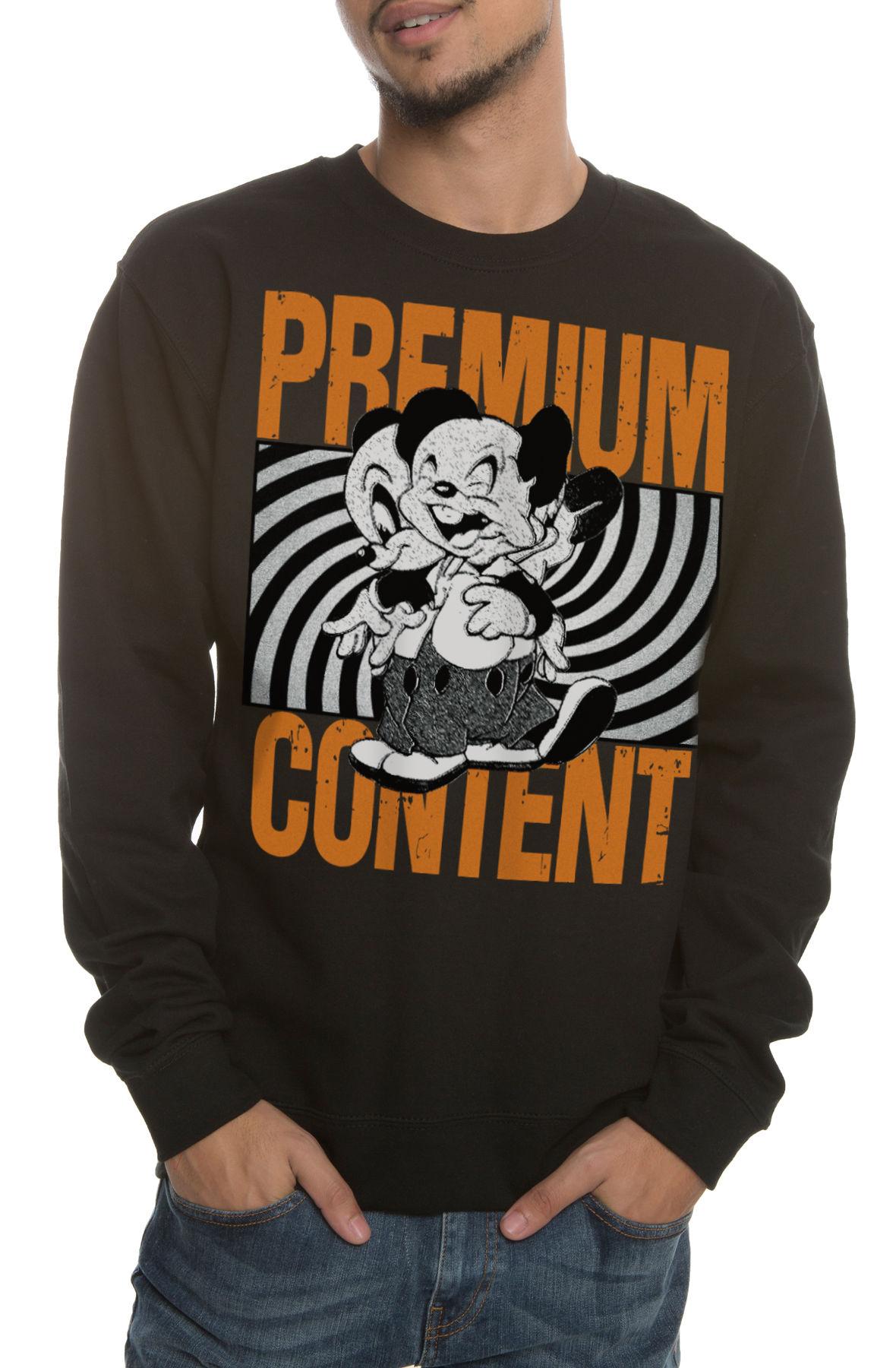 Image of The Kill Your PC Crewneck Sweatshirt in Black