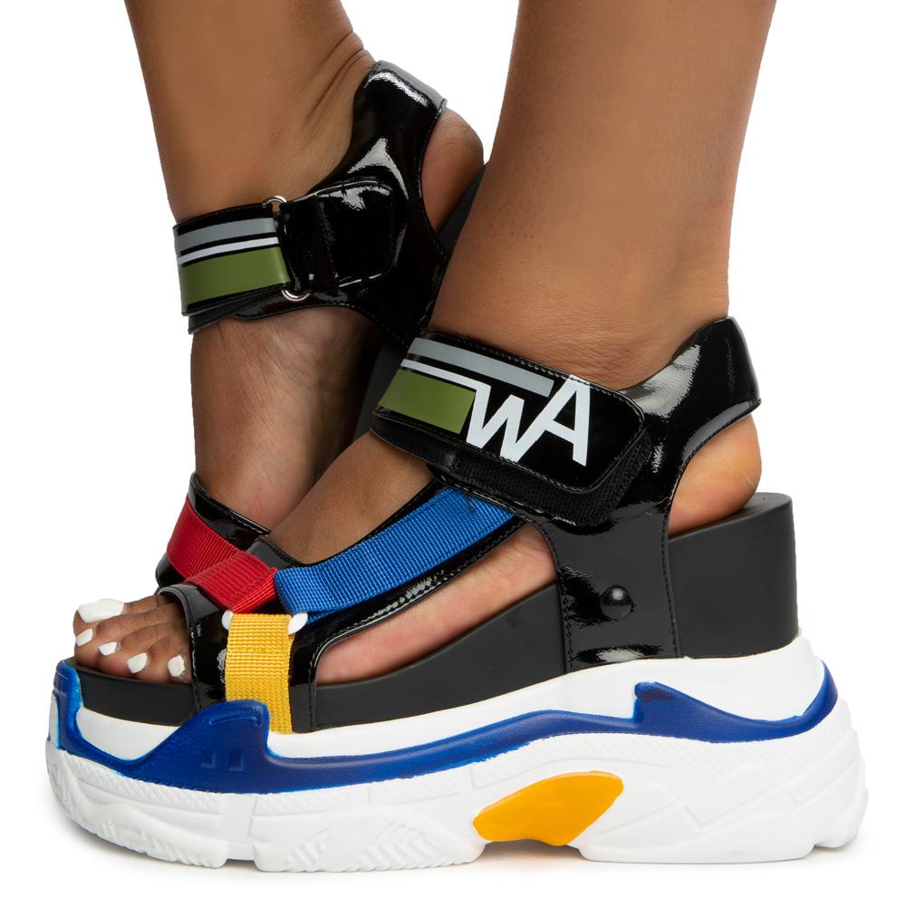 Blueberry-03 Platform Sandals