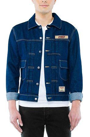 Image of Military Denim Jacket