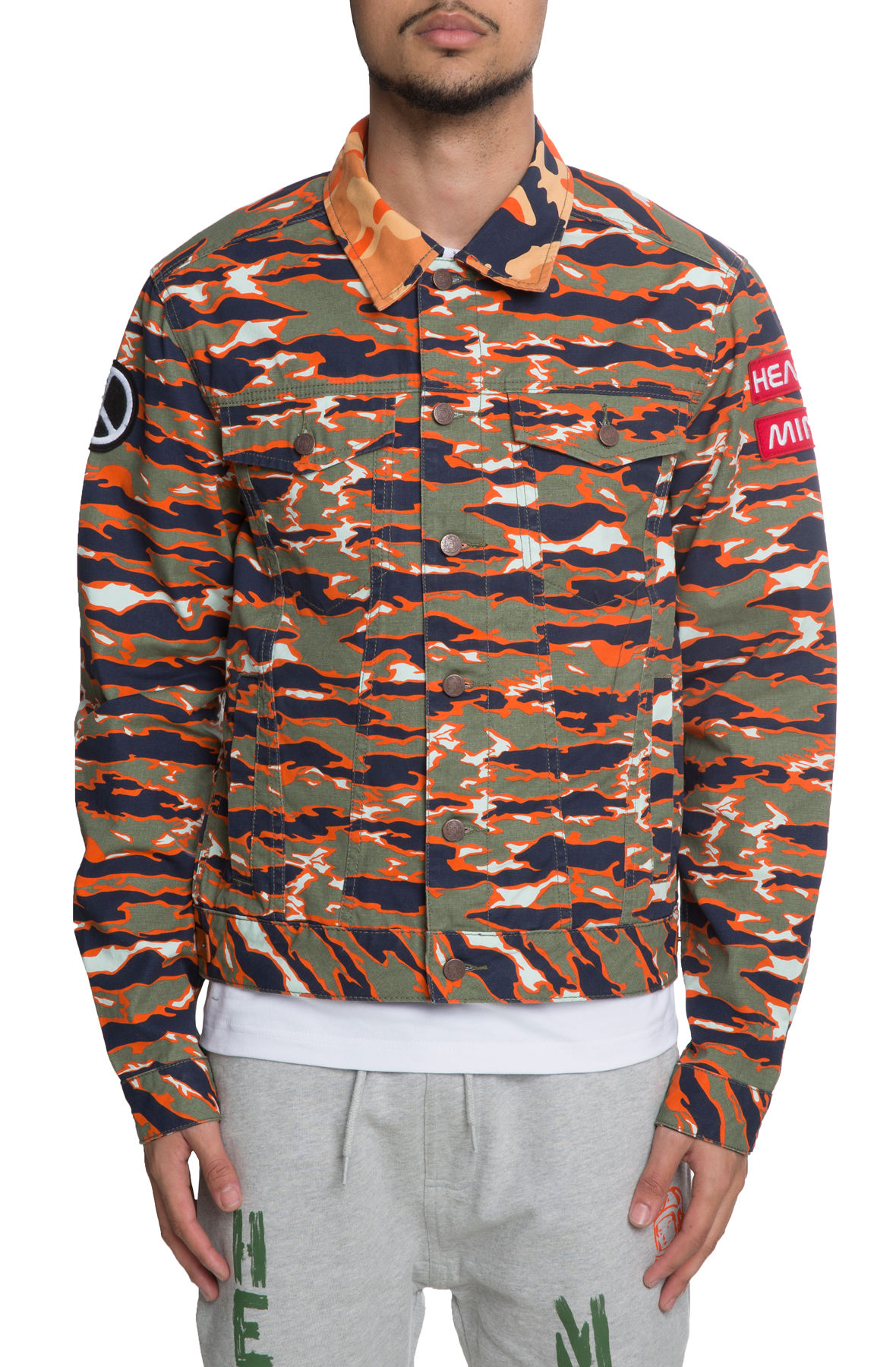 Image of The Commando Jacket in Honey Dew