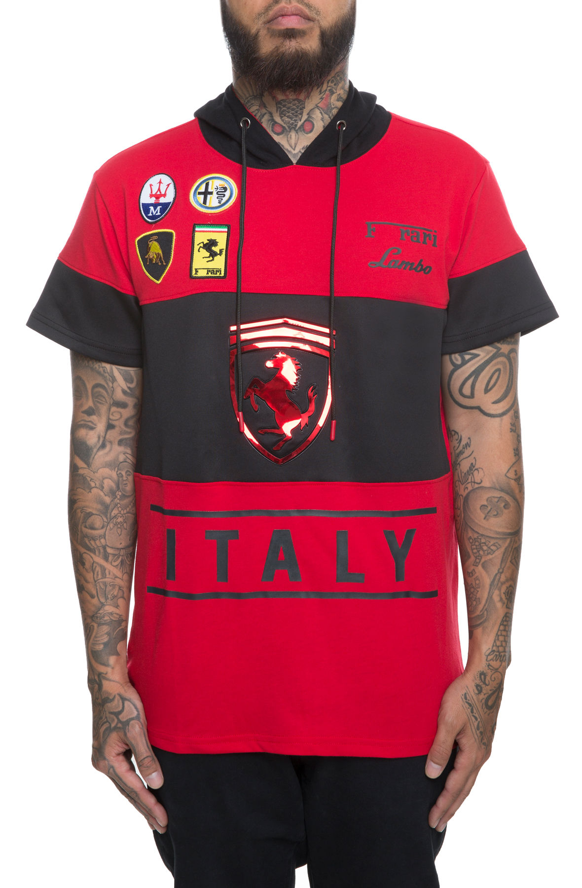 Image of The Italia Motorsports Hoodie in Red