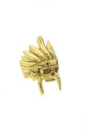 Image of The Indian Chief Ring - Gold