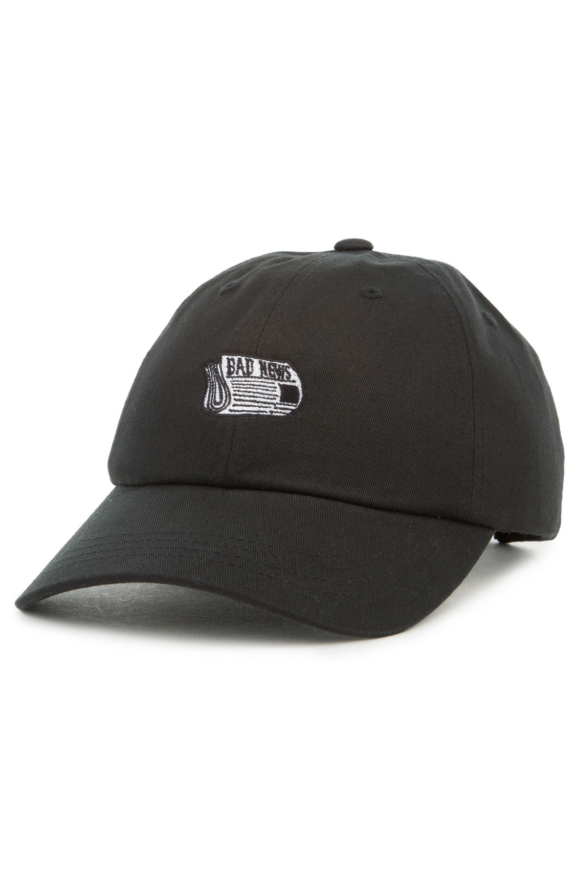 Image of The Bad News Dad Hat in Black
