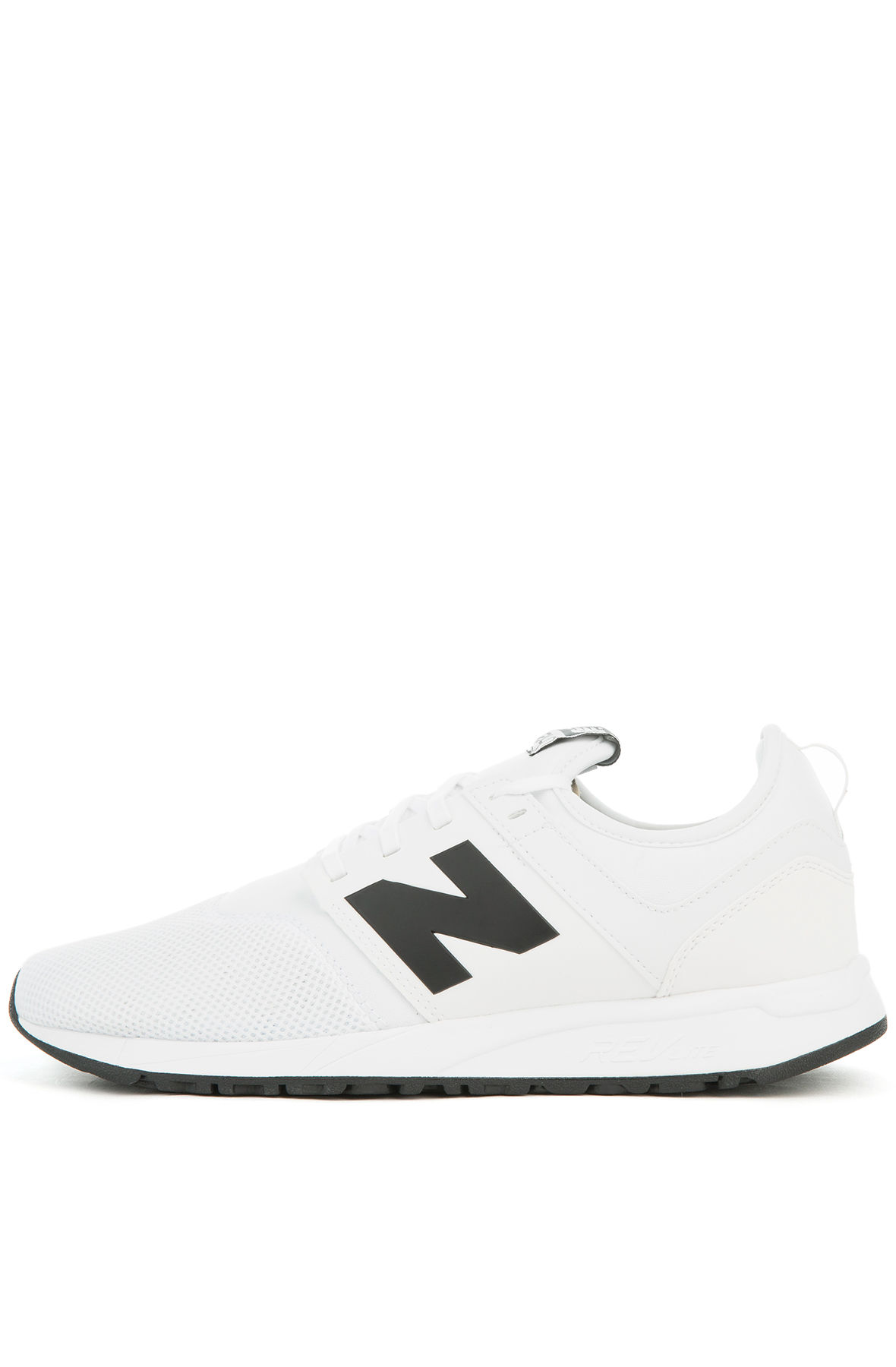 Image of The 247 Sneaker in White and Black