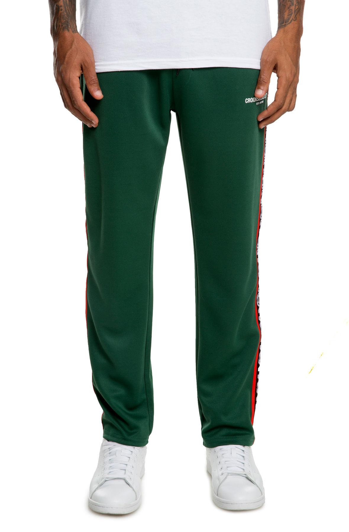 Image of The CNC Track Pant in Forest