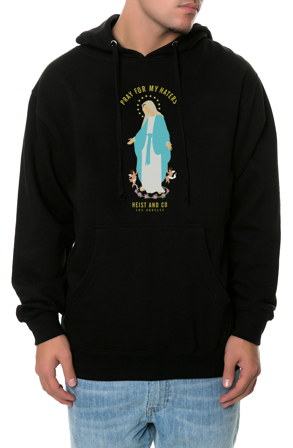 Image of The Pray for My Haters 2 Hoodie in Black