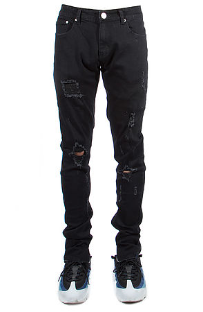 Image of 501 Ankle Zipper Jeans Black
