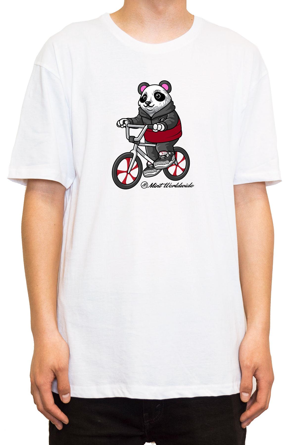 """""""BMX Bear T-shirt """""""" WHITE"""""""