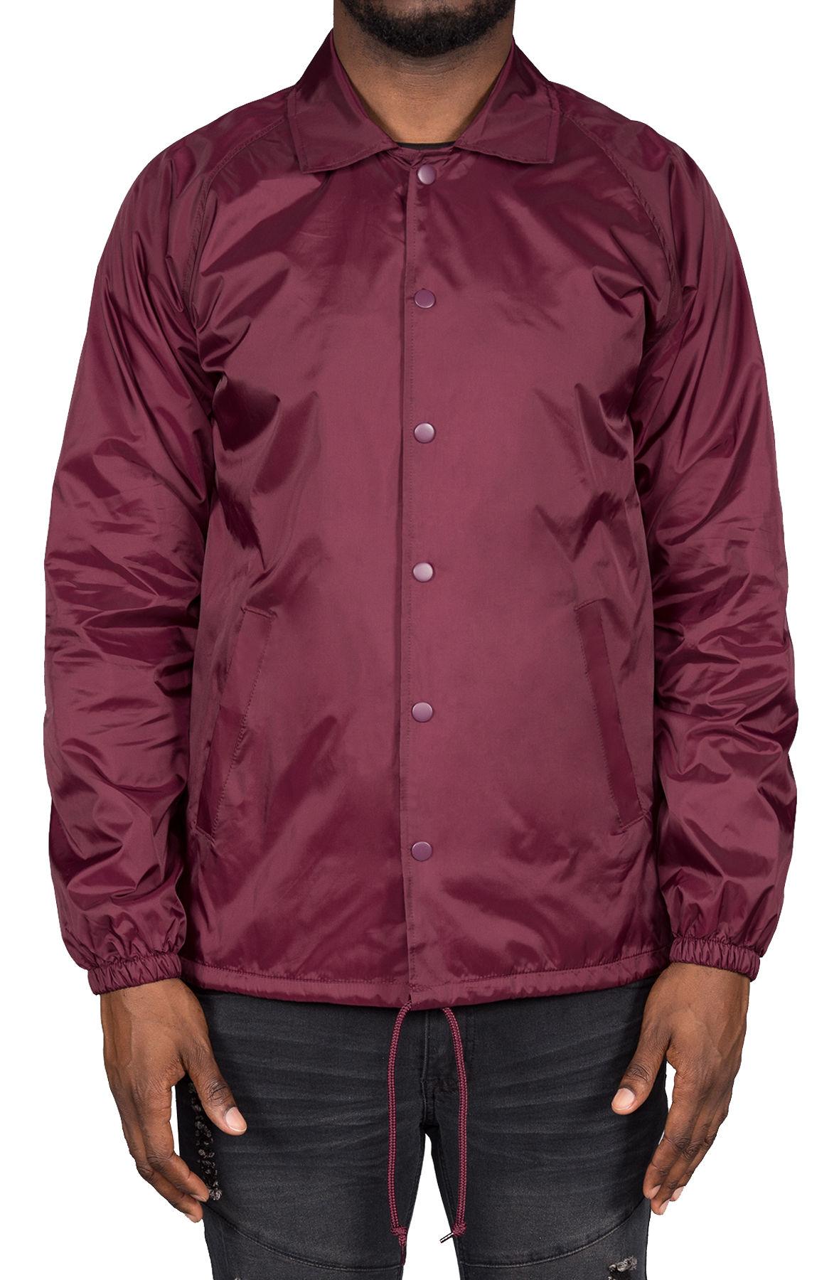 Image of Phil Coaches Jacket (Maroon)