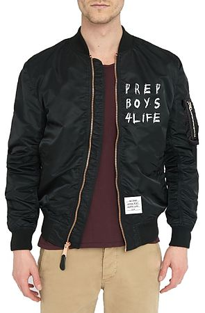 Image of The Prep Boys 4 Life Lightweight MA-1 Bomber in Black