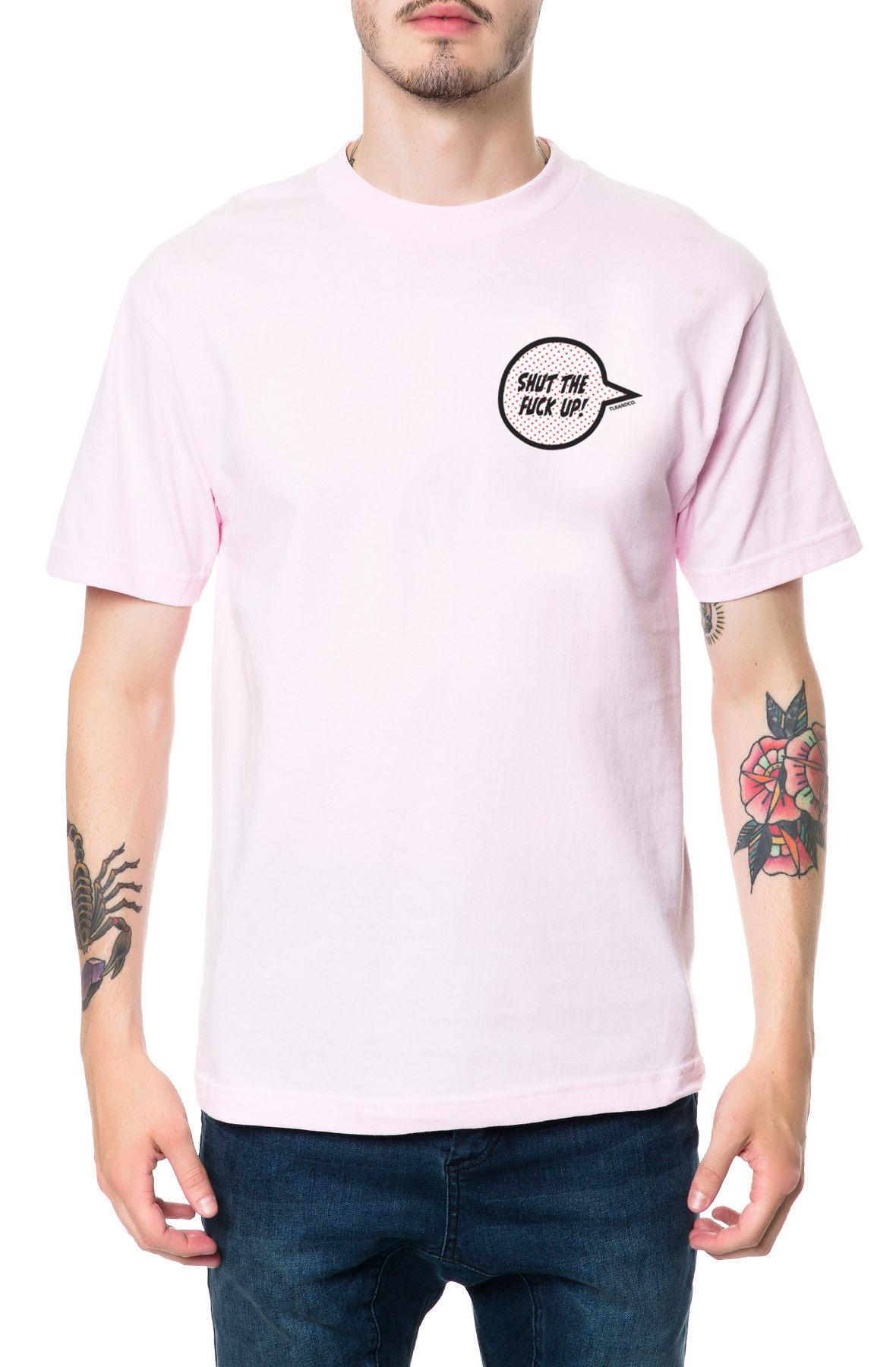 The STFU Tee in Pink