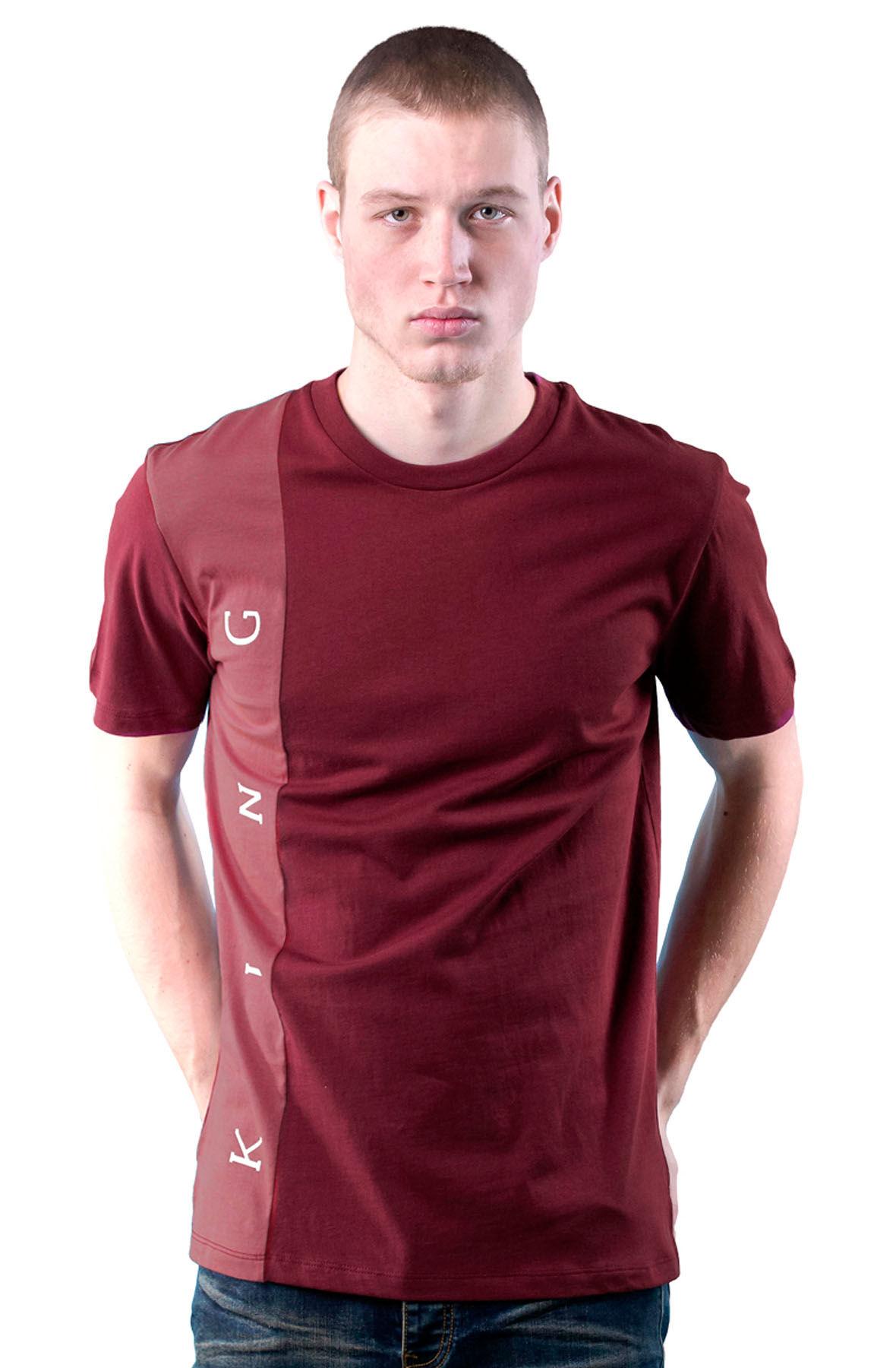 Image of Aldgate T-shirt - Oxblood