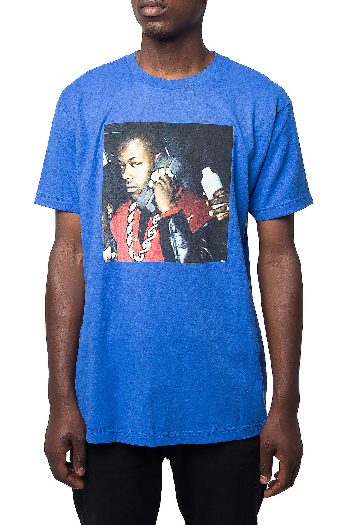 Image of The Too Short Artistic Render T-Shirt in Blue