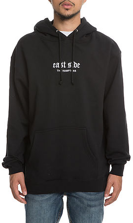 Image of The Hamptons Embroidered Hoodie in Black