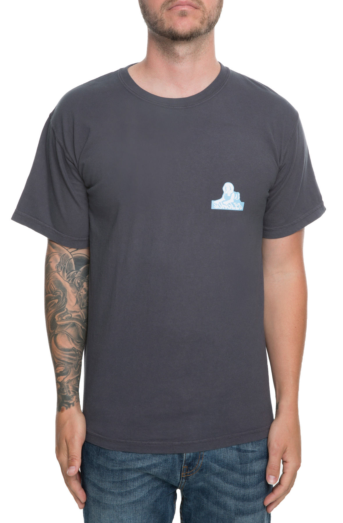 Image of The Sphinx Logo Tee in Grape