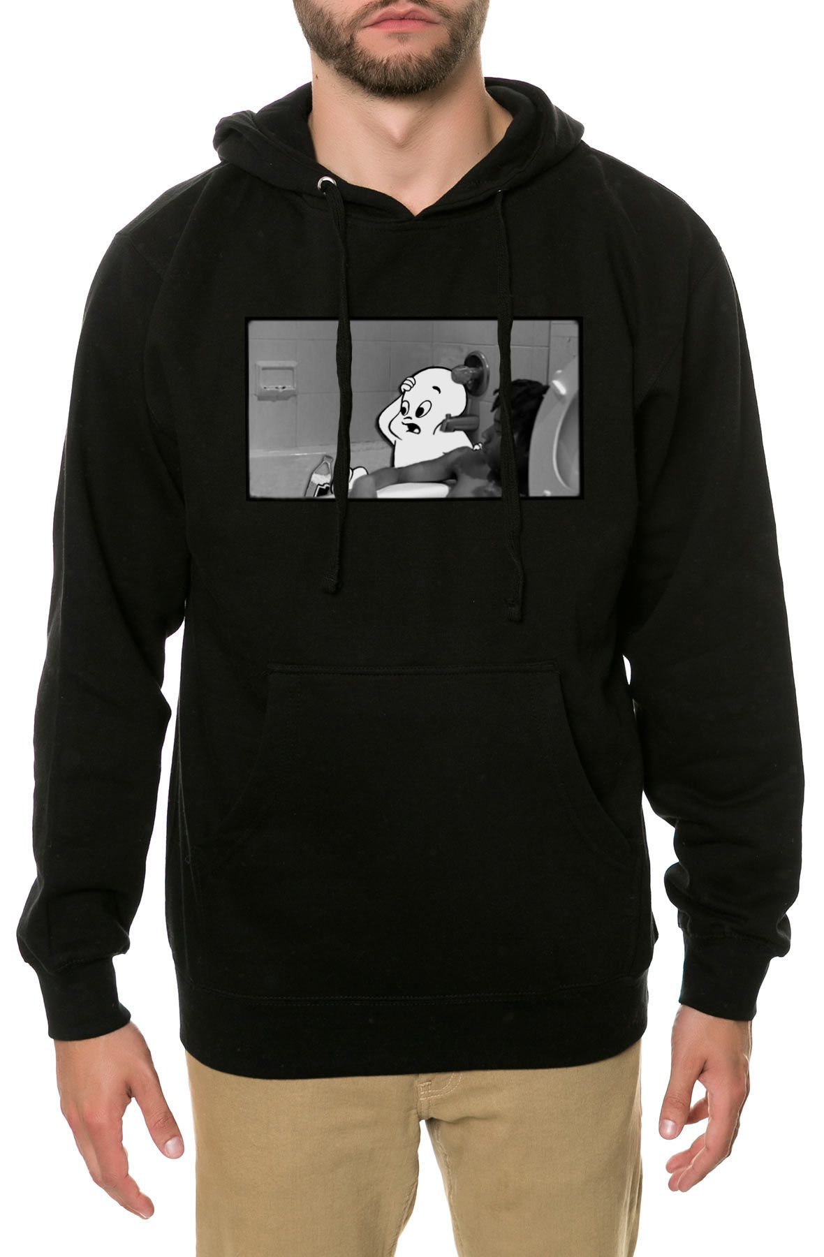 Image of The Dopest Ghost Hoodie in Black