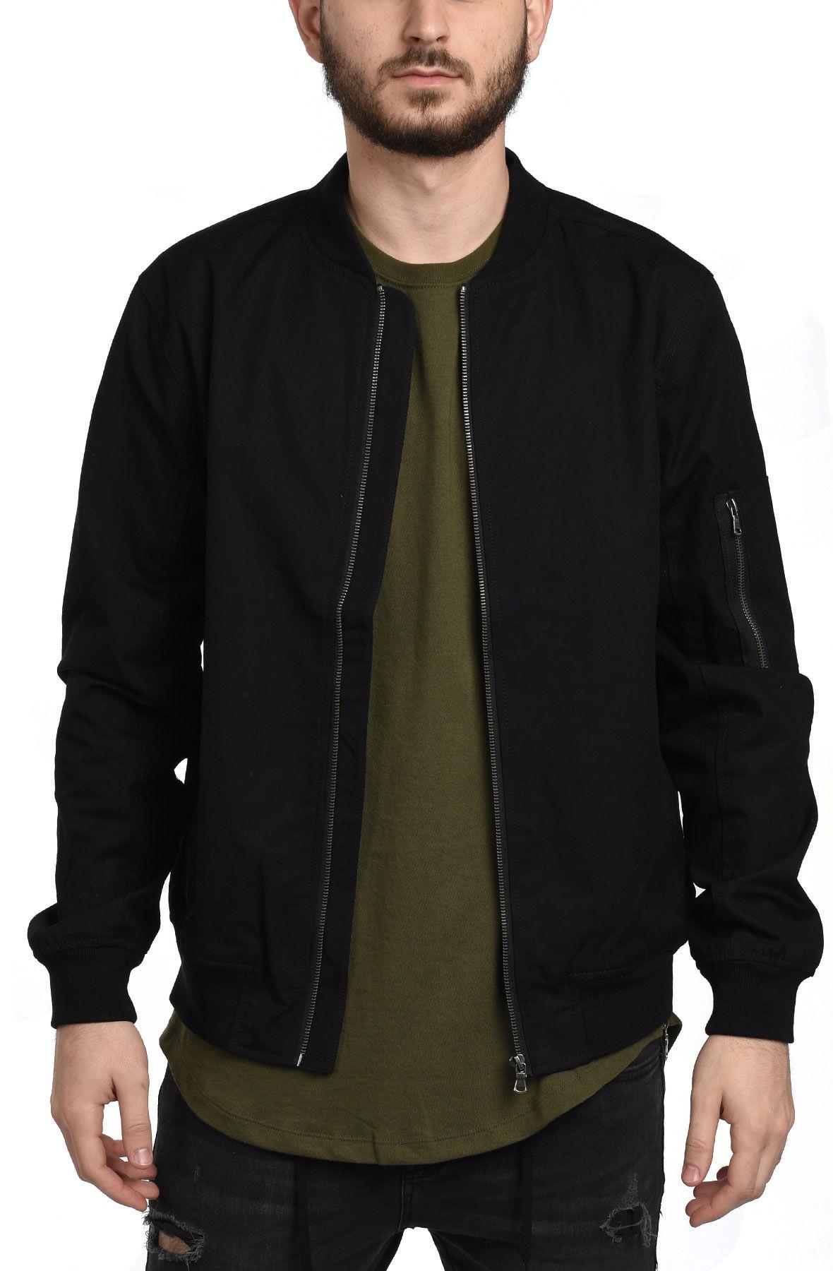 Canvas Jacket in Black