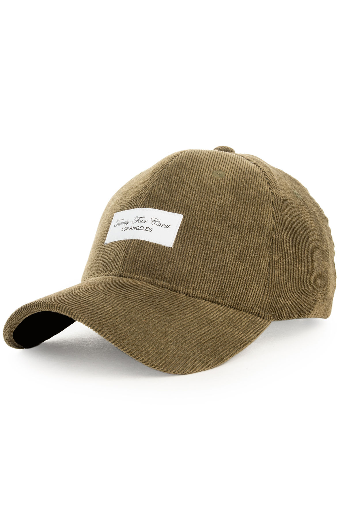 Image of The Corduroy Dad Cap in Olive