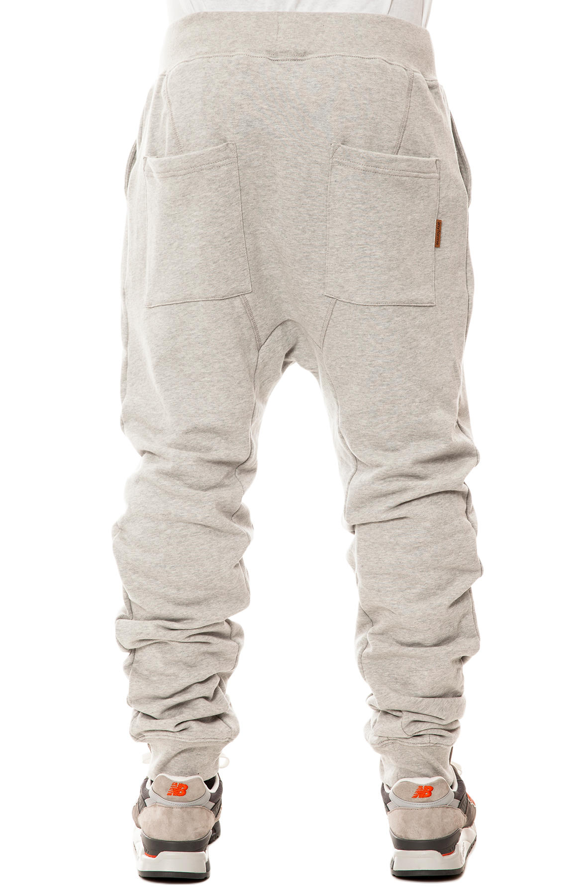 the hammer pants in heather gray