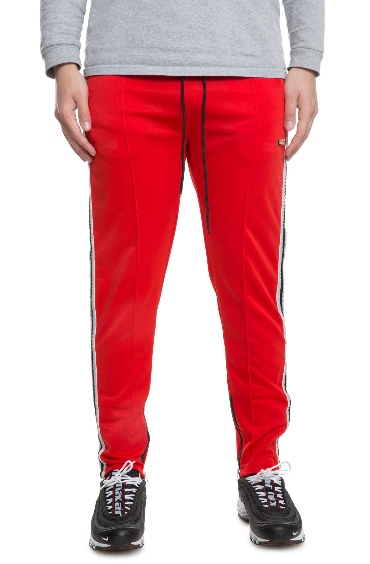 Image of The Melrose Track Pants in Red