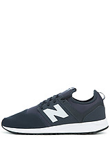 Image of The 247 Sneaker in Blue and Black