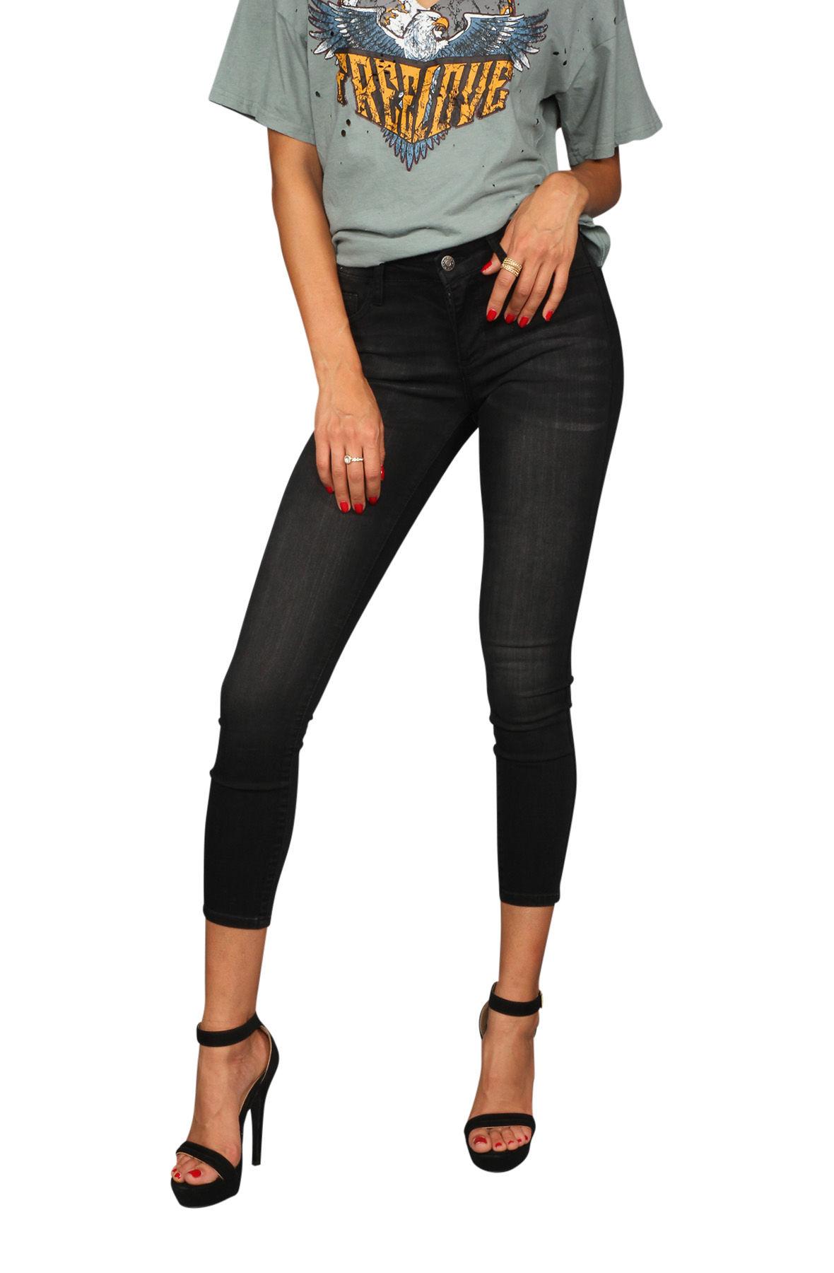 Image of The Skinny Jeans in Black