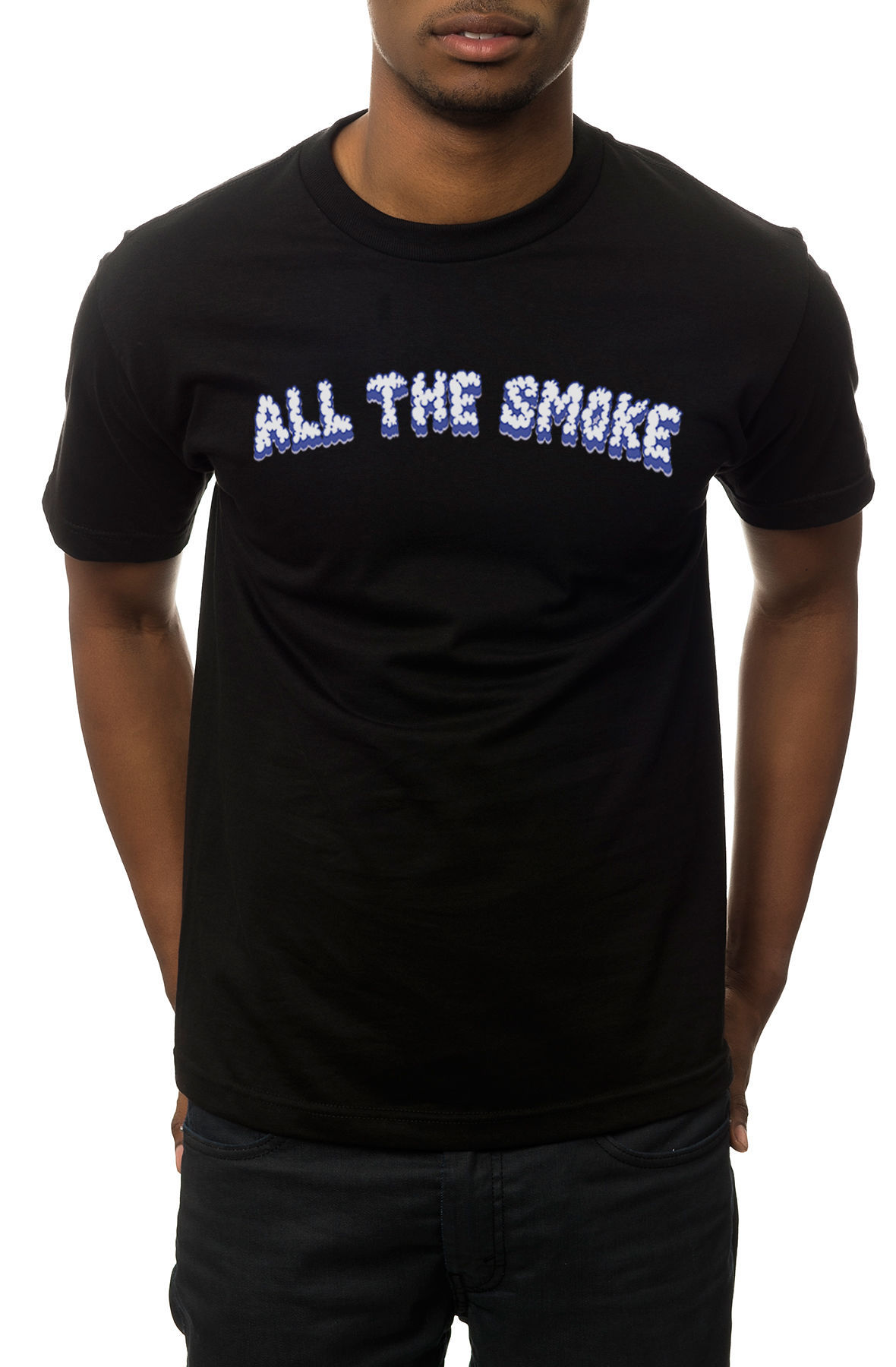 Image of The All the Smoke Tee in Black