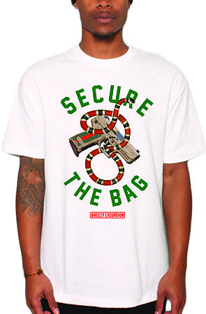 Image of Secure the Bag White Tee