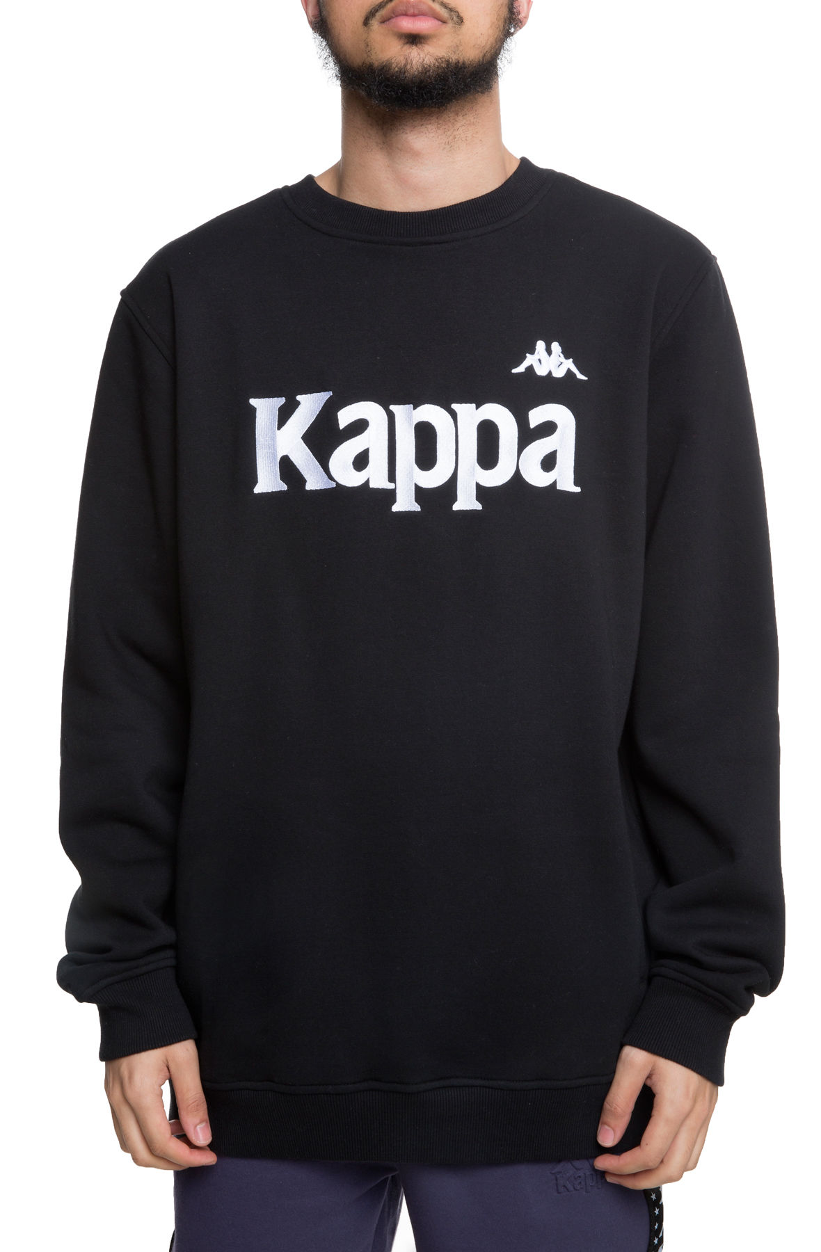 Image of The Authentic Bzali Crewneck in Black and Grey Silver