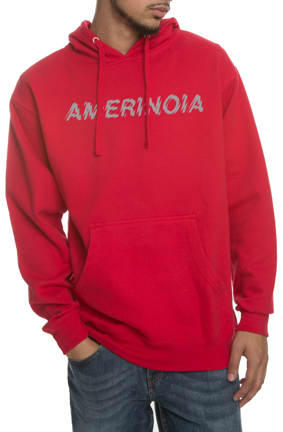 Image of The Amerinoia Hoodie in Red