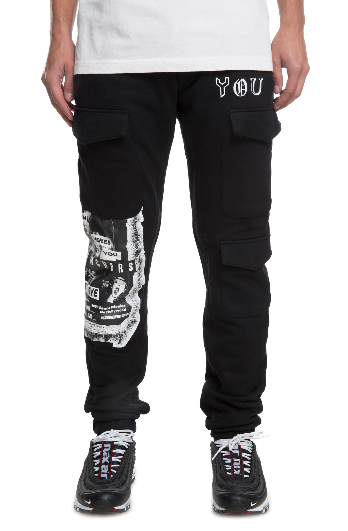 Image of The Electra Sweatpants in Black
