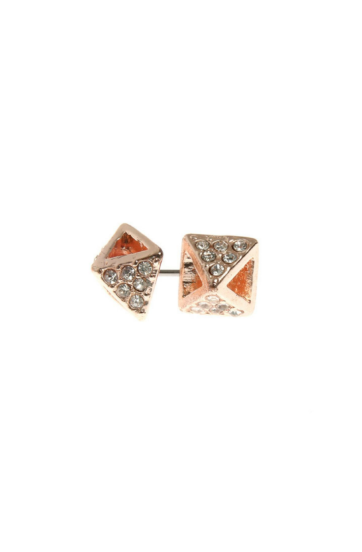 Image of Pyramid Studded Earrings