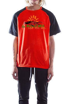 Retro La Montana T-shirts Rust
