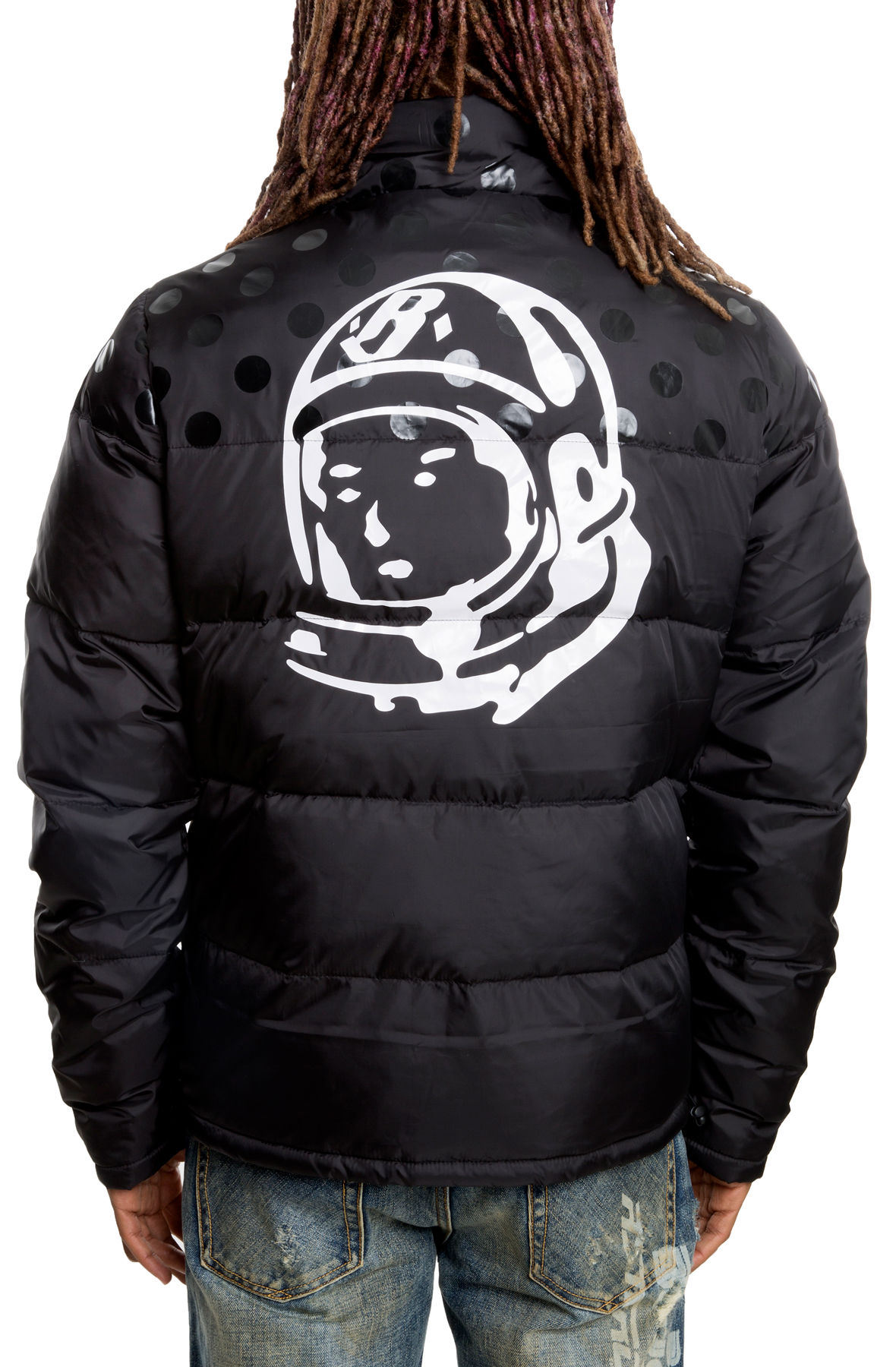 Image of The Celscius Padded Winter Jacket in Black