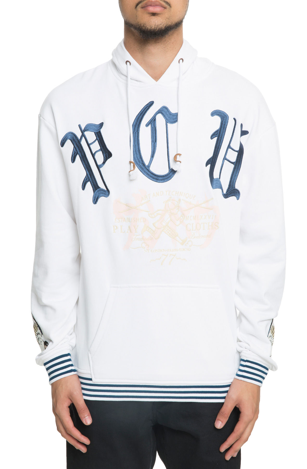 Image of The Technique Pullover Hoodie in Bleach White