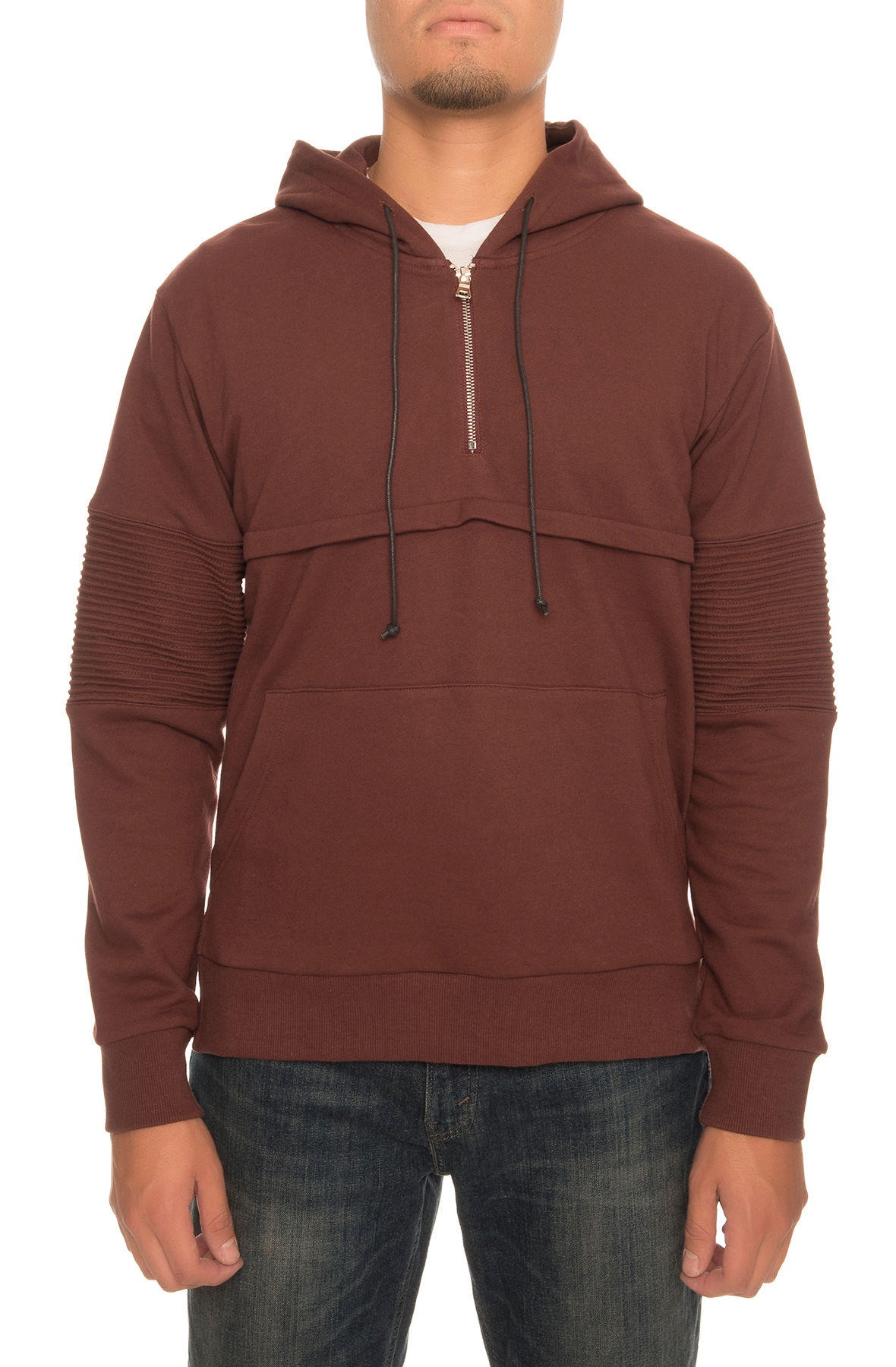Image of The Champ Hoodie in Burgundy