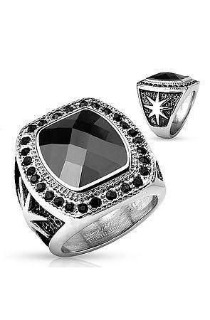 Image of The Black Gem Starburst Ring