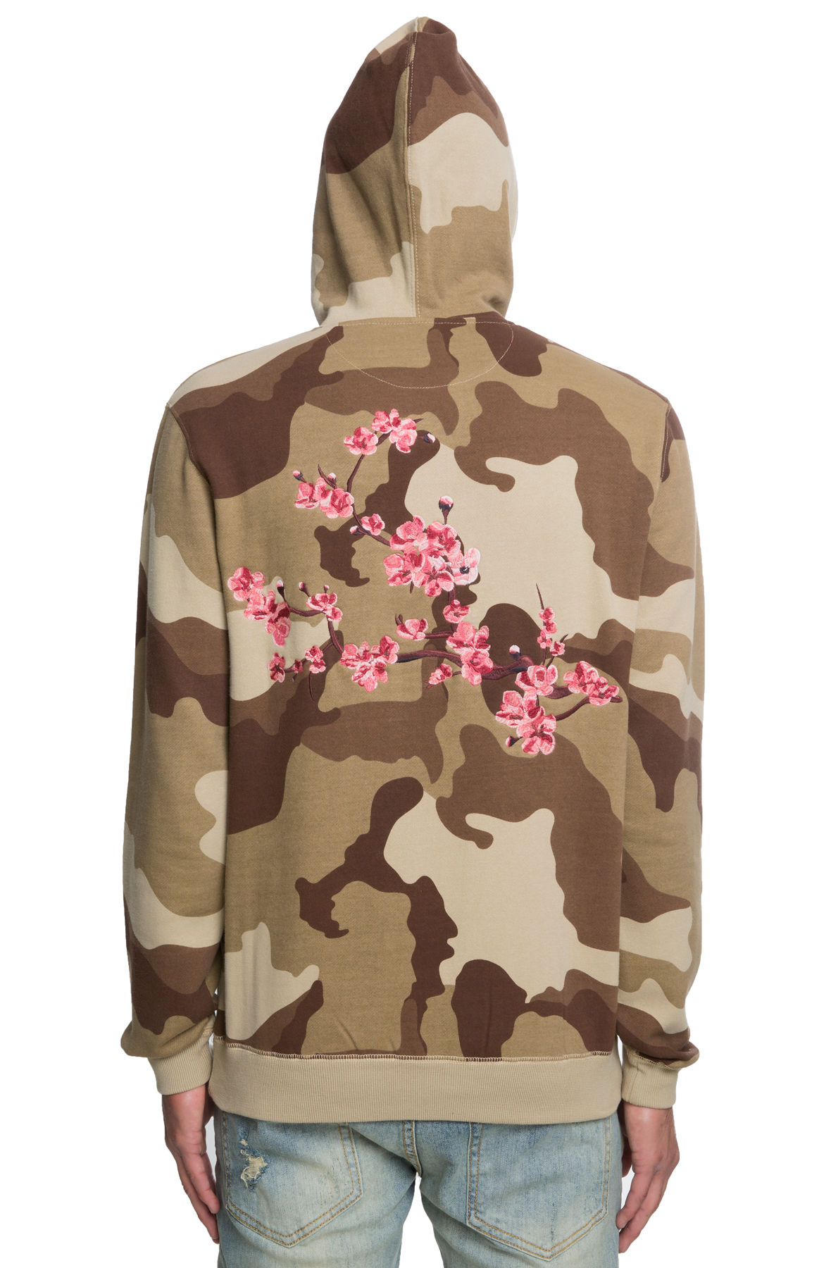 Image of The Dust to Dust Pullover Hoodie in Desert Storm