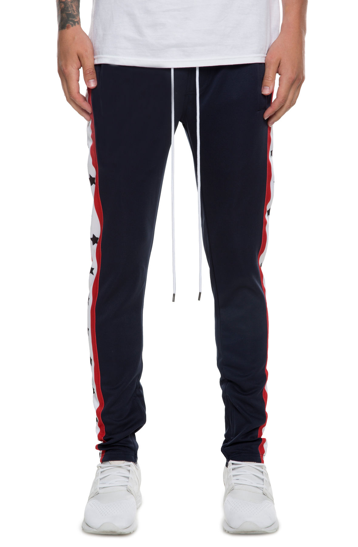 Image of The Independence Track Pants in Navy