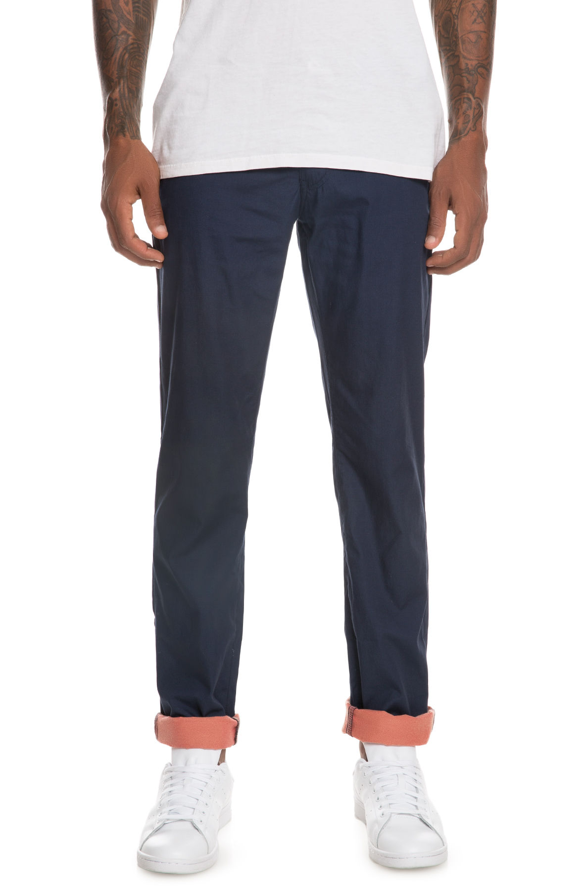 Image of The Something Upholding Pants in Navy
